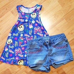 Other - GIRLS TANK AND SHORT SET